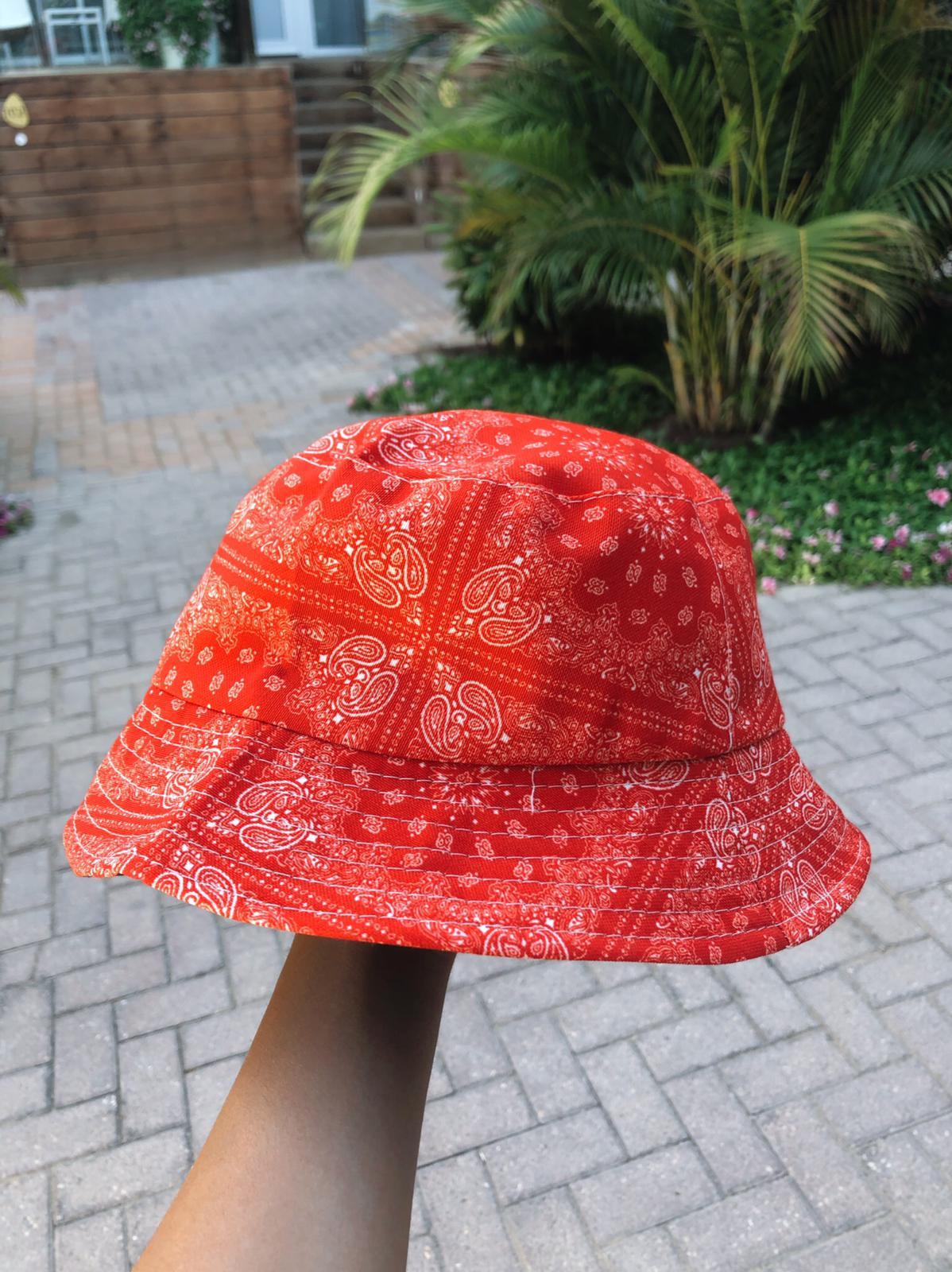 כובע טמבל | Red Bandana